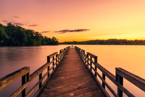 pier, dock, tennessee - Dream Now by Lena Drews